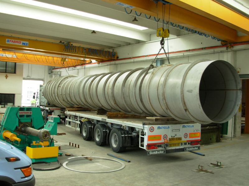 Exchanger Beam Pipe #