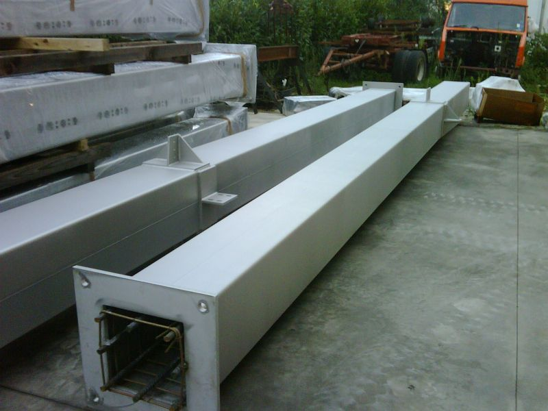 Square Stainless Steel Columns #