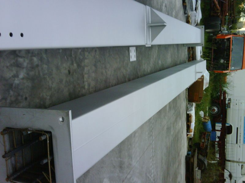 Square Stainless Steel Columns #2