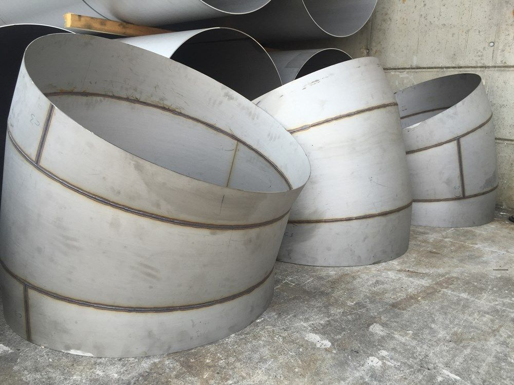 Stainless Steel Welded Curves #7